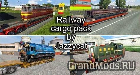 Railway Cargo Pack v1.8.4 [ETS2]
