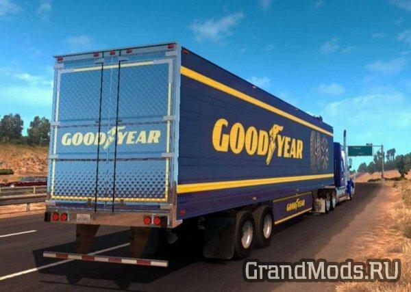 В ETS2 скоро появятся лицензия шин Goodyear