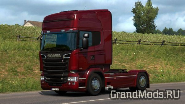 Scania R & Streamline Modifications V 2.2.2 [ETS2 1.30]