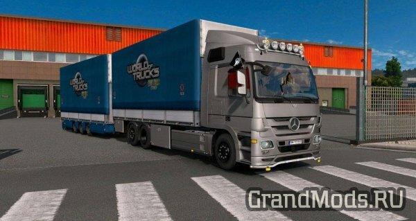 BDF Tandem Truck Pack v137 [ETS2]