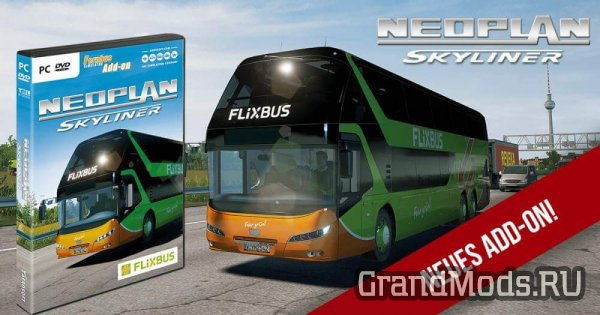 Neoplan Skyliner дополнение для Fernbus Simulator