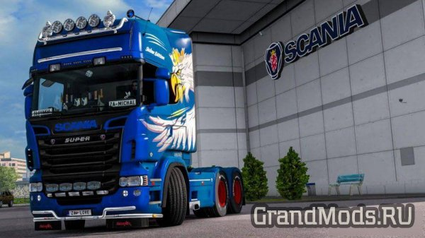 Scania Skåne Edition Metallic Skin [ETS2]