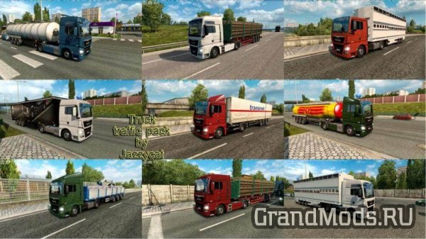 Truck Traffic Pack v4.1 [ETS2]