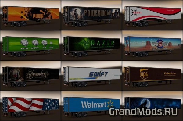 NEW USA TRAILERS PACK V1.1 [ATS]