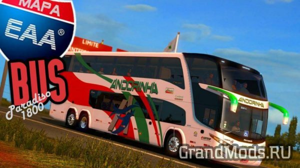 EAA  BUS MAP V5.0.2  [ETS2 v.1.32.X]
