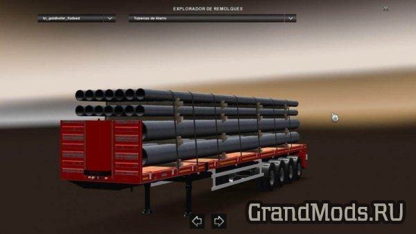 Goldhofer Flatbed v4.0 [ATS+ETS2]