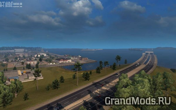 "Карта ""Coast to Coast"" v 2.4 [1.30] [ATS]"
