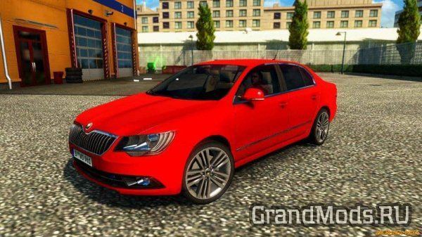 Skoda Superb [ETS2 v.1.27.x]