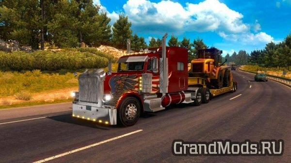 American Truck Simulator. По дорогам Америки! Обзор.