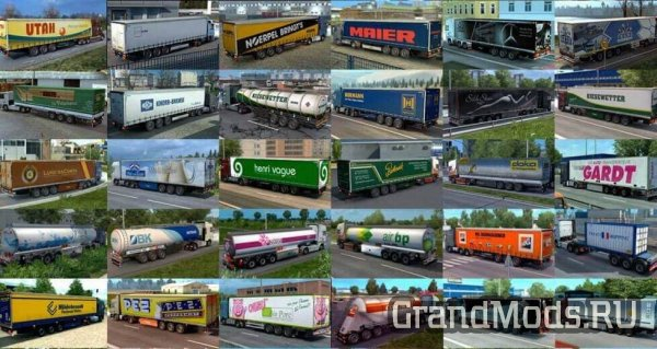 Penguins Trailer and Cargo Pack V4.0 [ETS2 v.1.31]