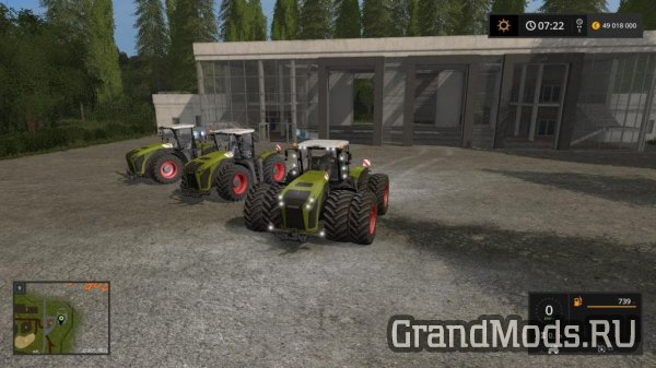 Claas Xerion 4000-5000 v 2.0 [FS17]