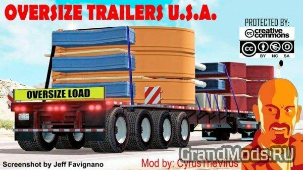 OVERSIZE TRAILERS U.S.A. [ATS+ETS2]