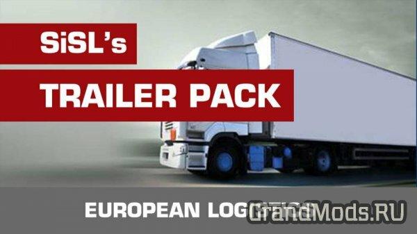 SiSL's Trailer Pack v2.2 для ETS2 1.38