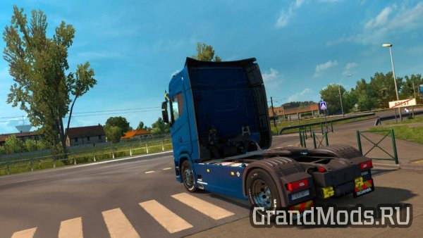 SCANIA S730 WITH INTERIOR V1.0 [ETS2]