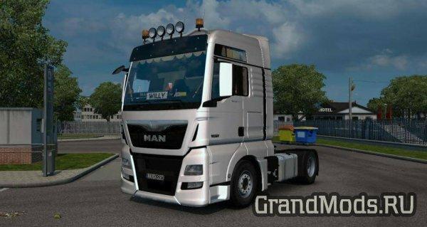 MAN TGX XXL EURO 6 V1.0 [ETS2]