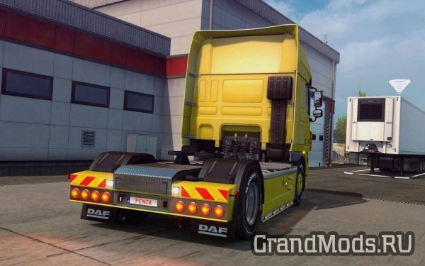 REAR BUMPERS FROM DAF XF105 [ETS2 MP]