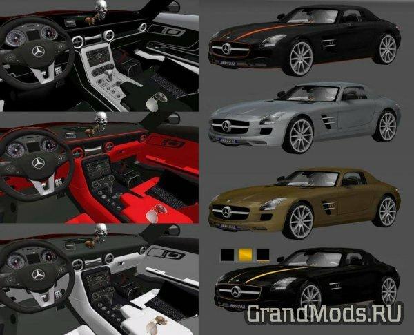 Mercedes-Benz SLS AMG v 2.1 [ETS2 v.1.27]