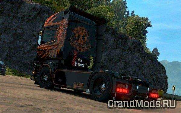 Scania RJL Griffin Killer Skin [ETS2]