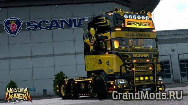 V8K R520 Wolverine Scania [ETS2]
