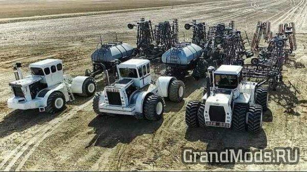 Трактора Big Bud в действии