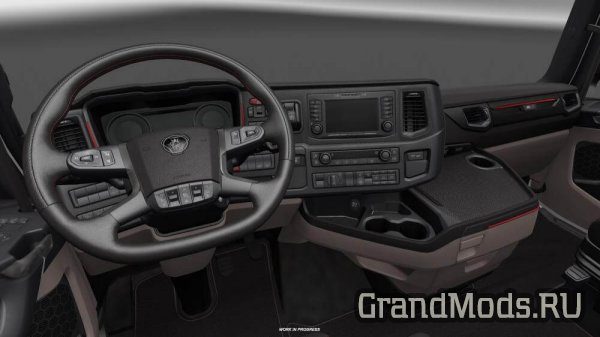 Обновление разработки грузовых моделей SCANIA S и R