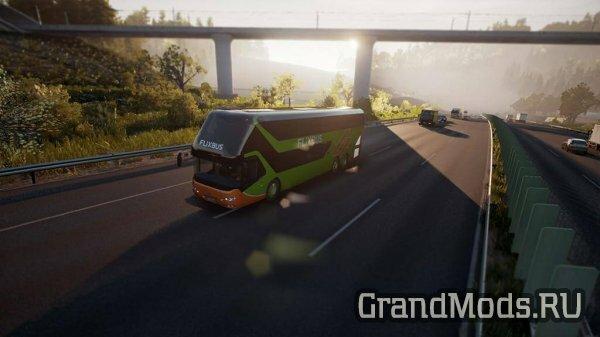 Fernbus Simulator обновление 1.13 доступно