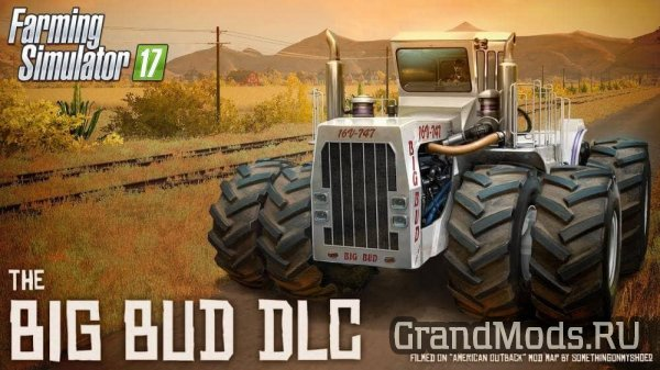 FS17: Big Bud DLC теперь доступен!
