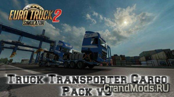 TRUCK TRANSPORTER CARGO PACK V3 [ETS2 v.1.27]