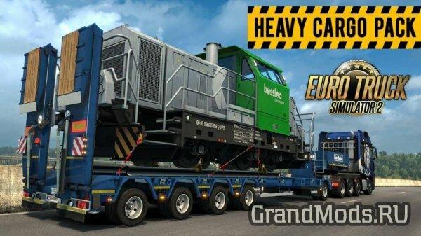 ETS2: Heavy Cargo Pack DLC уже здесь!