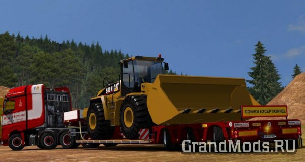 Doll 3Axle + Owned Trailers V7.1[ETS2]