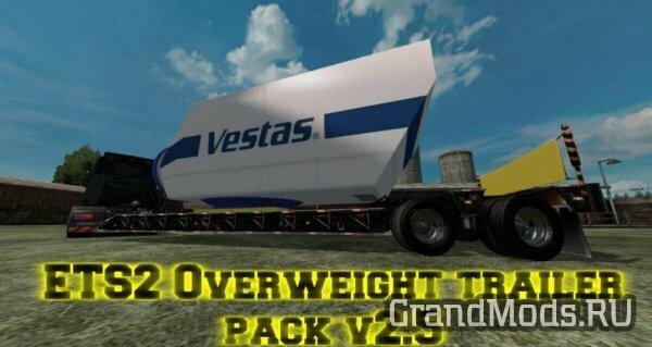 OVERWEIGHT TRAILER PACK V2.5 [ETS2]