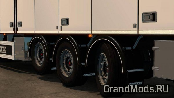 Limetec Trailer with steering axes [ETS2]