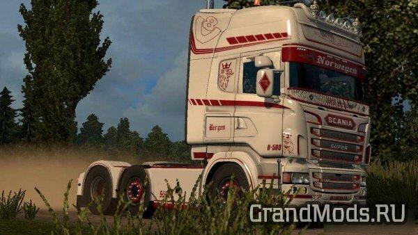 Norwegen Skin Scania RJL [ETS2]