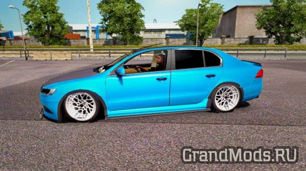 Skoda Superb Tuning Version + Interior v7.0 [ETS2]