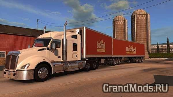 DOUBLE TRAILER ATS SN4K3R EDIT V2.0 [ATS]