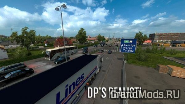 DP'S REALISTIC TRAFFIC V0.1.13 [ETS2]