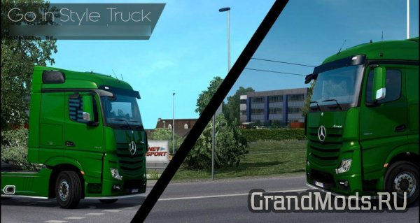 Go In Style Truck Mod [ETS2 v.1.27.x]