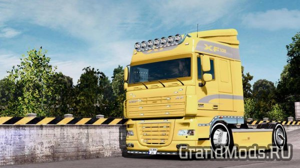 DAF XF 105 Simple Edit [ETS2 v.1.27x]