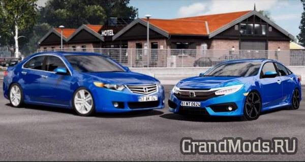 HONDA CIVIC FC5 & ACCORD EXECUTIVE [ETS2]
