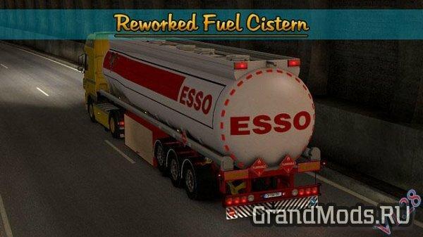 Reworked Fuel Cistern SCS [ETS2]