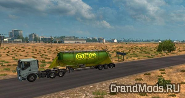 RK Map The Great Steppe  v1.02 [ETS2]