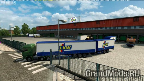 Double Trailers in All Companies Across Europe v 1.1 [ETS2]