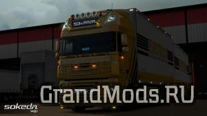 Грузовик DAF XF by 50k v4.4 для ETS2 1.39