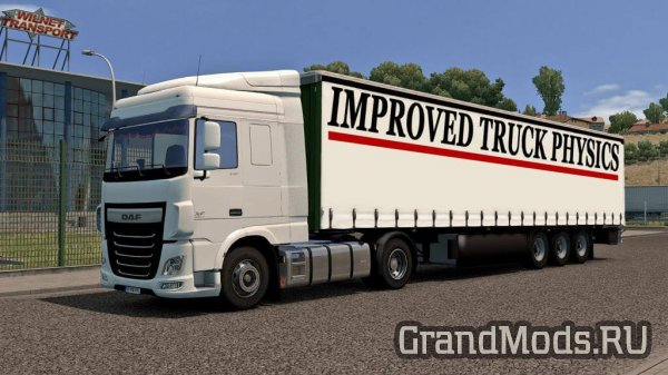 Improved truck physics v 2.5 [ETS2]