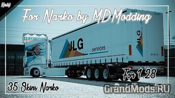 Kriistof Skins Pack for Narko v1.3 [ETS2]