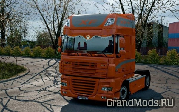 DAF Orange CMI Interior v 1.0 [ETS2]