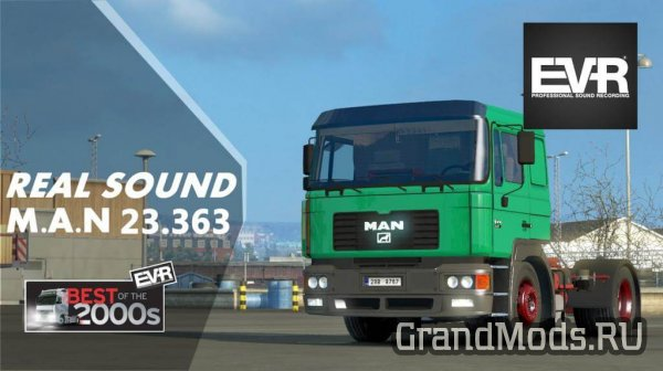 Real Sound M.A.N 23.364 F2000 v1.1 [ETS2]