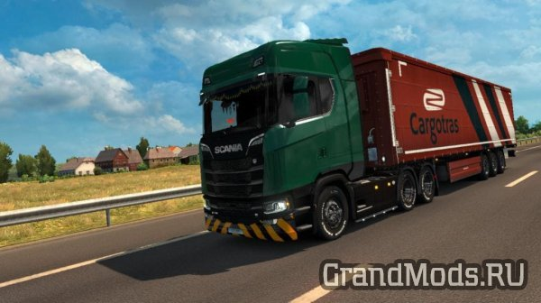 Template Scania S & R full [ETS2]