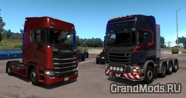 SCANIA Trucks for ATS v1.3 [ATS 1.29]