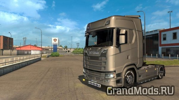 Tuning Scania Next Gen by MDModder [ETS2]